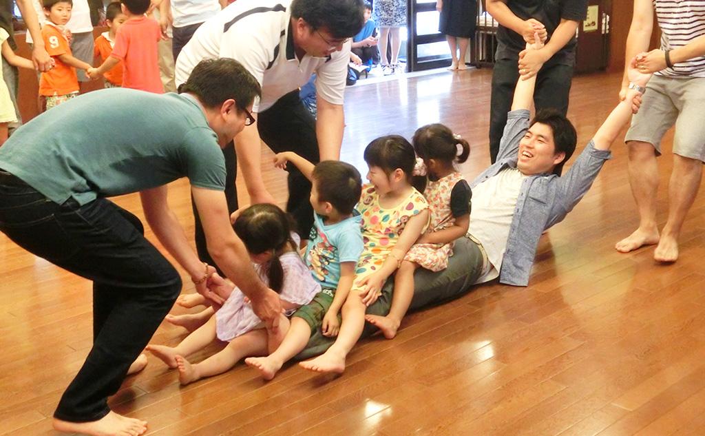子どもと親の集まり