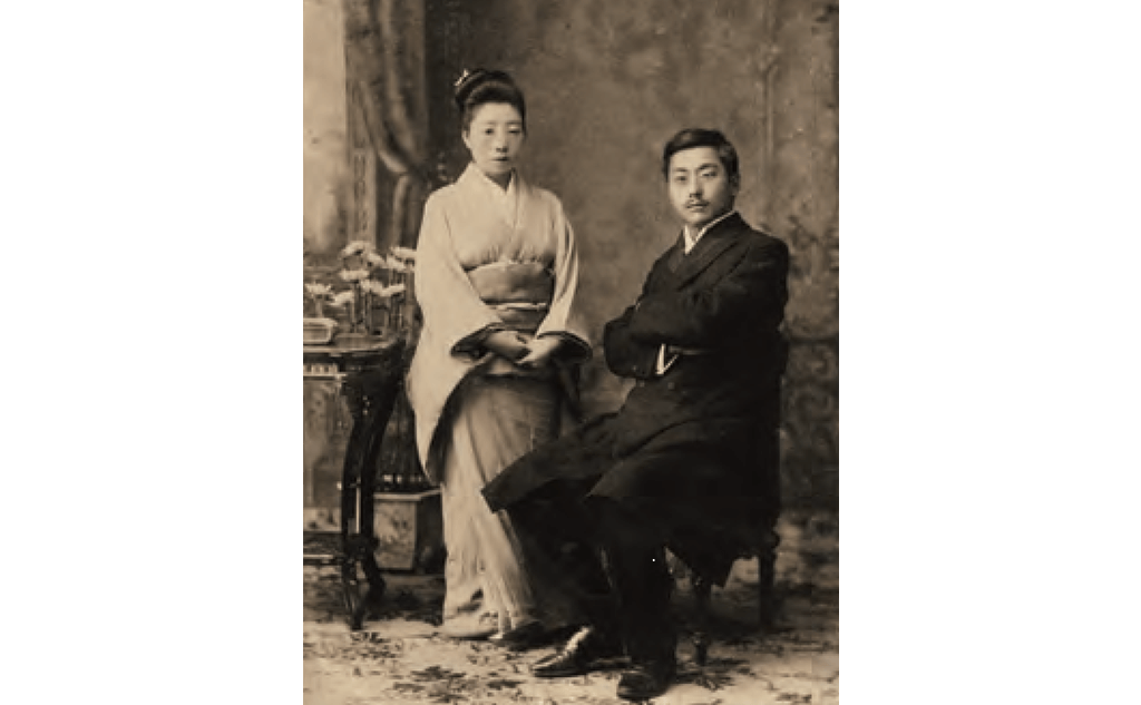 羽仁夫妻新婚の頃