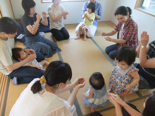 乳幼児を持つ母の集まり